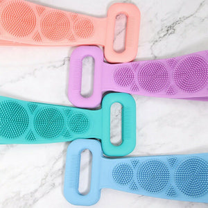 2 Double-Sided Exfoliating Back Scrubber