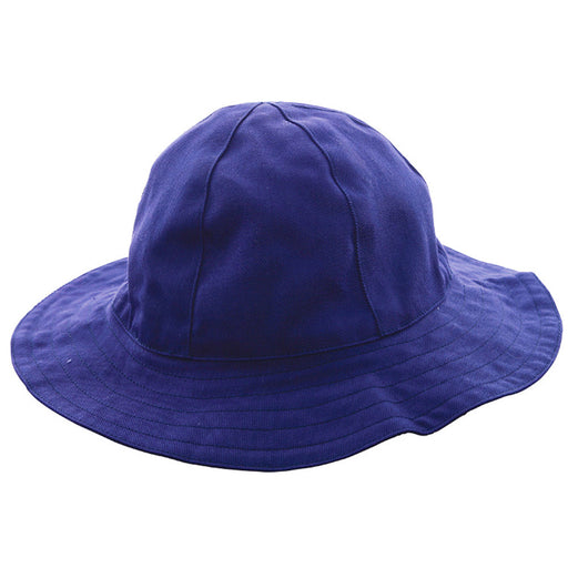 infant sun hat navy twill