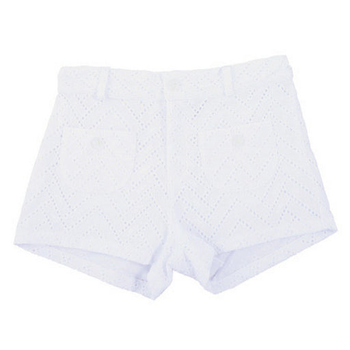 miss shannon shorts white eyelet