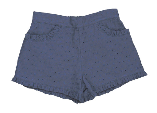 phoebe pocket shorts navy eyelet