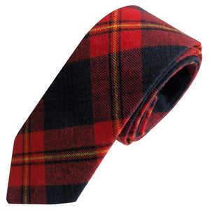 prepster tie red yellow plaid