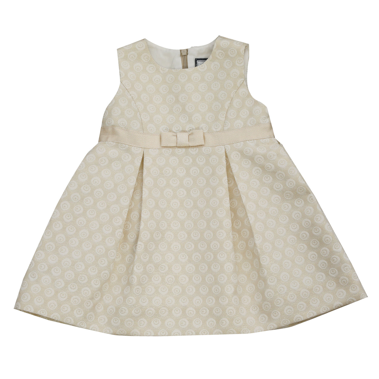 gemma girls party dress gold damask
