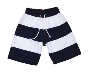chris board shorts navy white colorblock