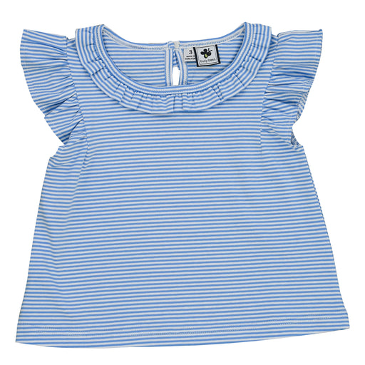 infant and girls' colette top sky stripe knit