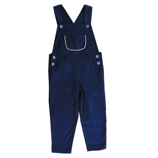 colton  baby boy overall navy corduroy