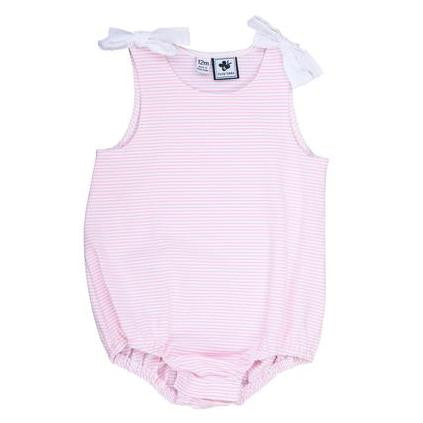 darla bubble pink stripe knit