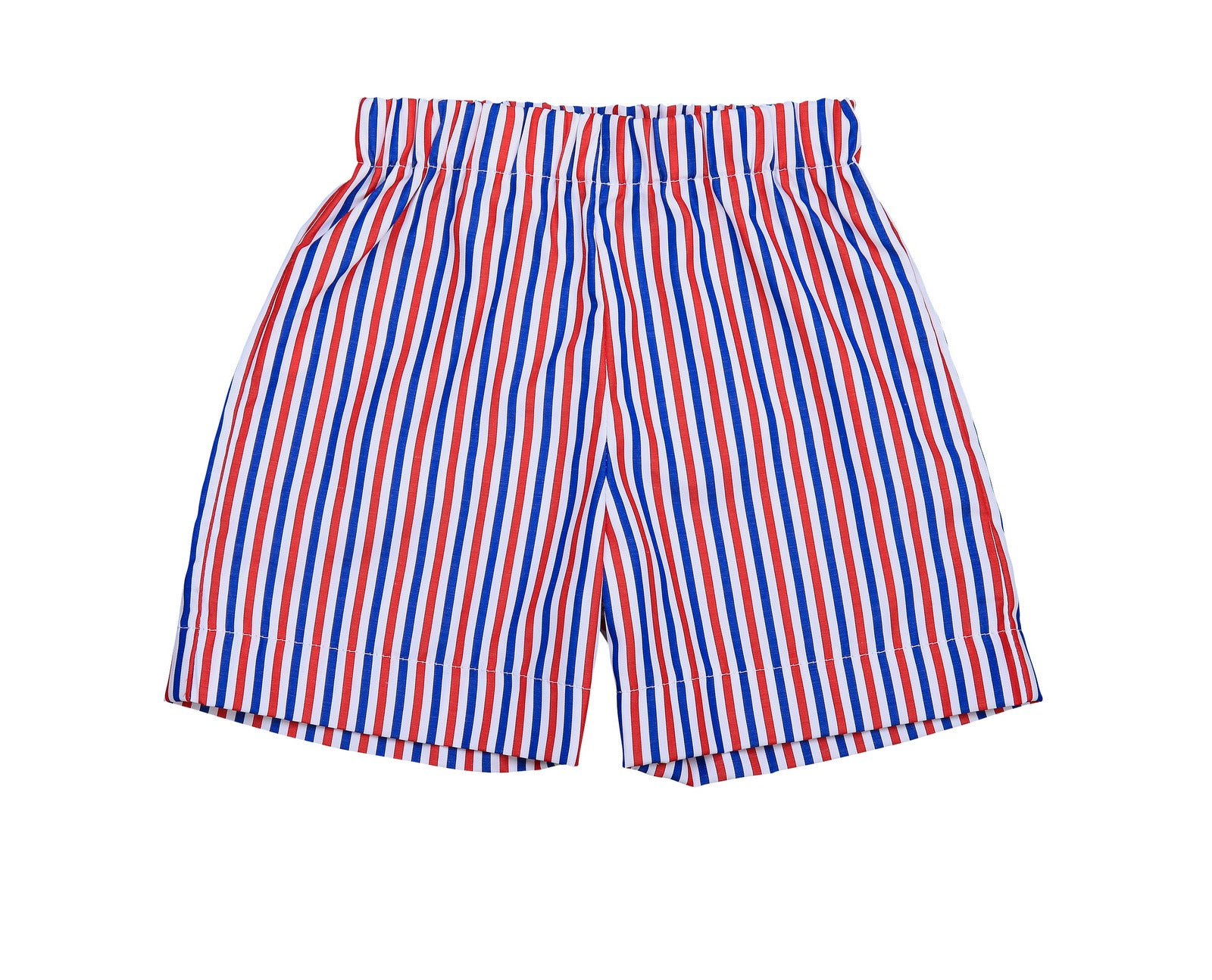 jd pull on shorts red white blue stripe