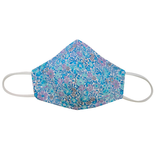 LIBERTY™ EDITION  cotton face mask mini turquoise floral