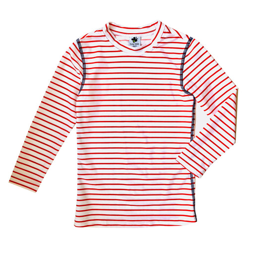 rashguard red white stripe