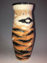 Load image into Gallery viewer, Handmade Tiger King Vase