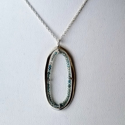 Zircon and Sterling Necklace