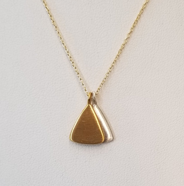 Vermeil and Silver Necklace