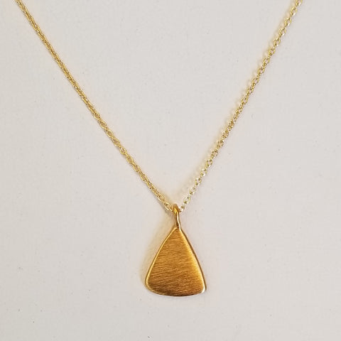 Vermeil Triangle Necklace