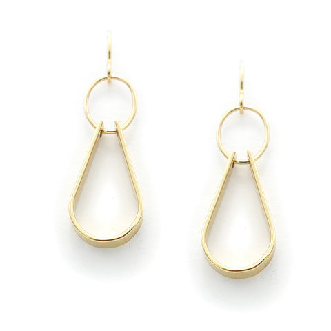 Goldfill Double Drop Earrings