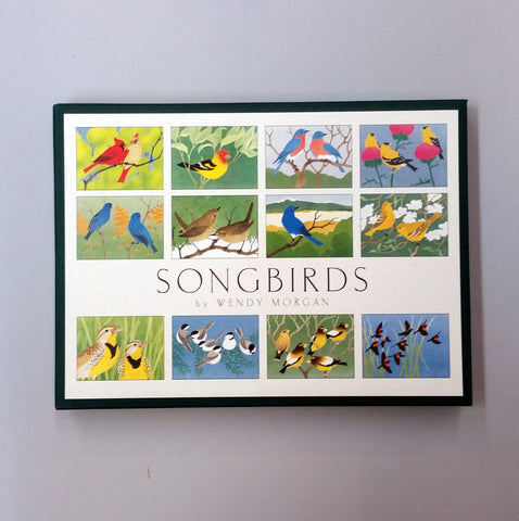 Assorted Greeting Cards - Songbirds