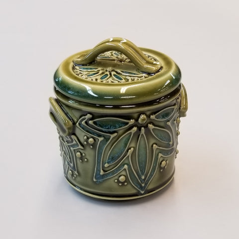 Small Treat Jar - Green