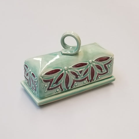Butter Dish - Teal
