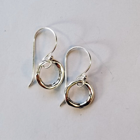 Sterling Ring Earrings