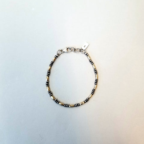 Sterling and Goldfill Bracelet