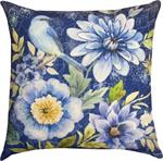 Bluebird Pillow