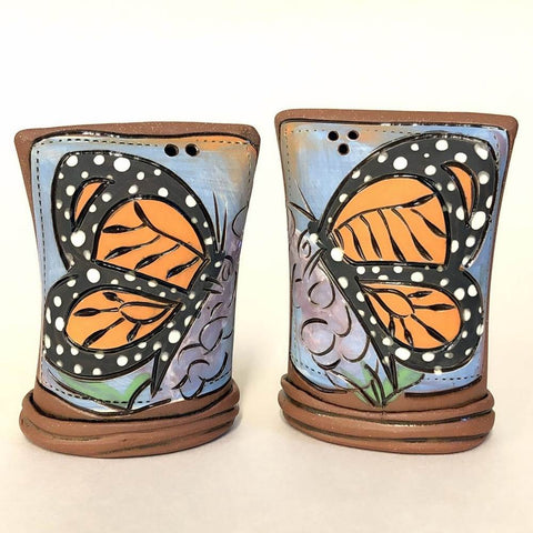 Butterfly Salt & Pepper Shaker Set