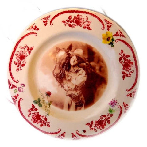 Cowgirl's Best Friend Plate
