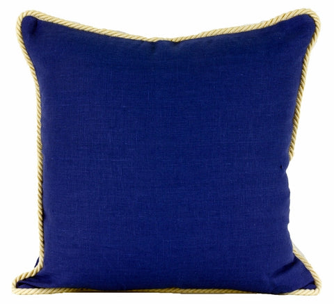 Cornflower Linen Pillow