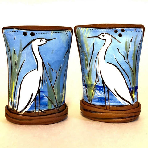 Egret Salt & Pepper Shaker Set