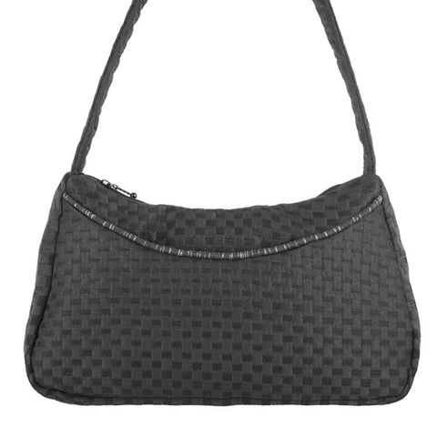 Julia Bag in Waffle Black