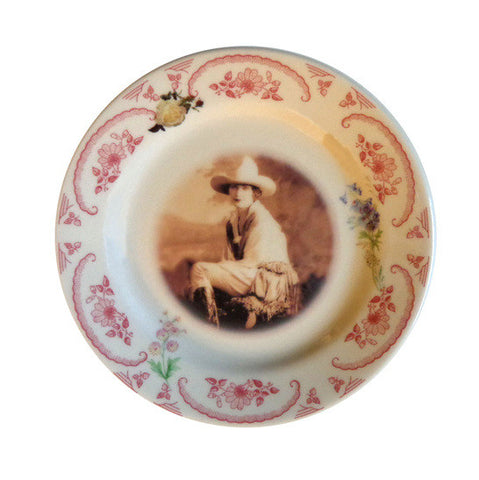 Mable Strickland Cameo Plate