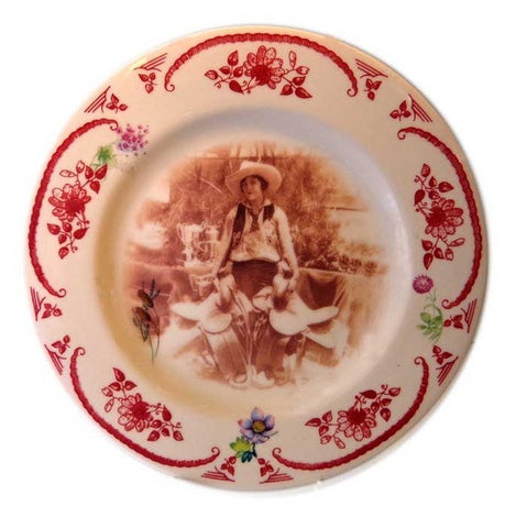 Rodeo Champ Plate