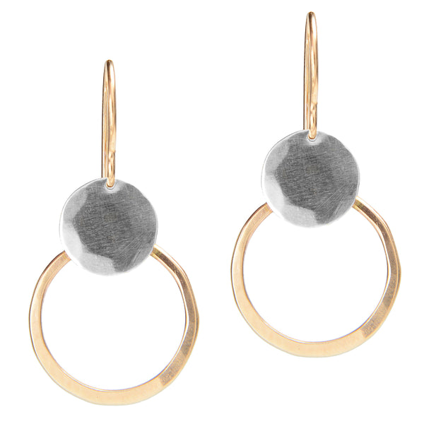 Circles and Discs Earrings