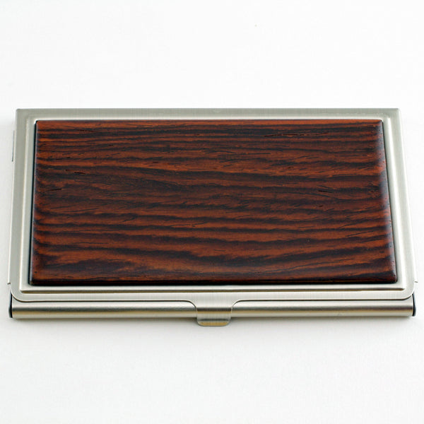 Hardwood Card Case