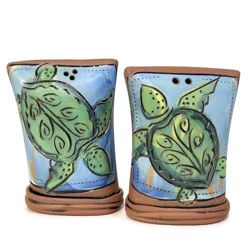 Sea Turtle Salt & Pepper Shaker Set