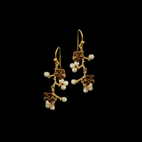 Ume & Pearls Earrings