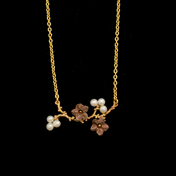 Ume Branch Necklace