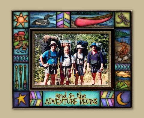 Magnetic Picture Frame - 'Adventure'