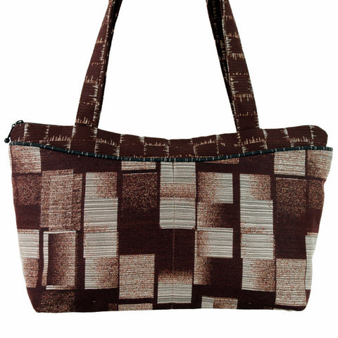 Andie Bag in Veneer Block