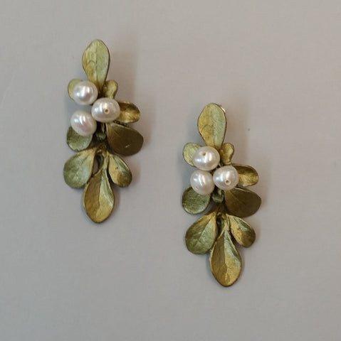 Barberry Post Earrings