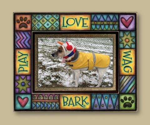 Magnetic Picture Frame - 'Bark'