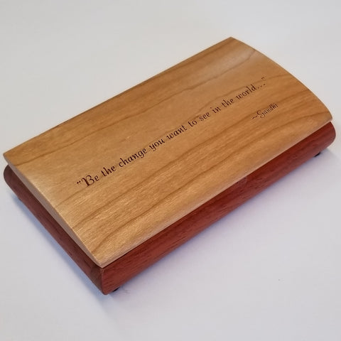 "Possibility Box - ""Be the Change..."""