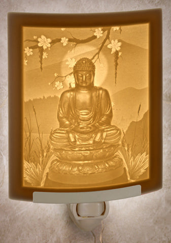 Porcelain Night Light - Buddha