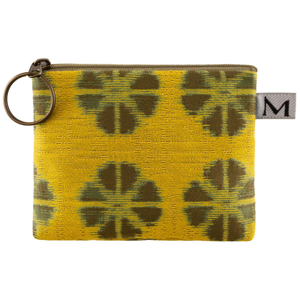 Coin Purse in Kyoto Yellow
