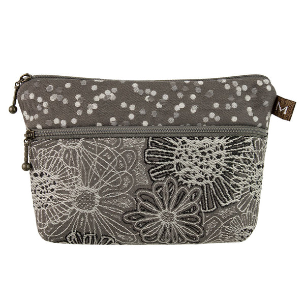 Cosmetic Bag in Blooming Grey