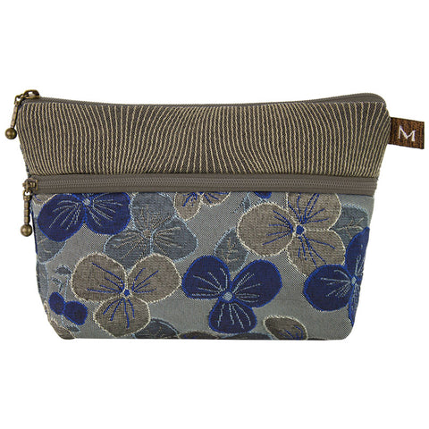 Cosmetic Bag in Pansy Blue