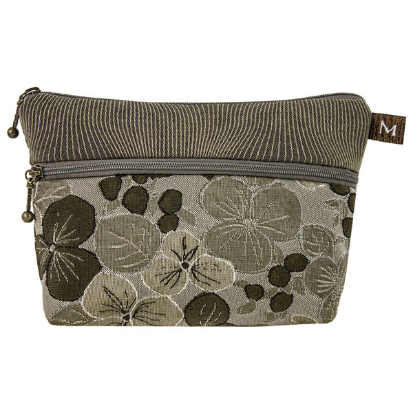 Cosmetic Bag in Pansy Sage