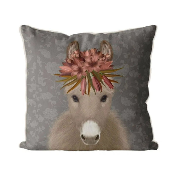 Donkey Bohemian Pillow