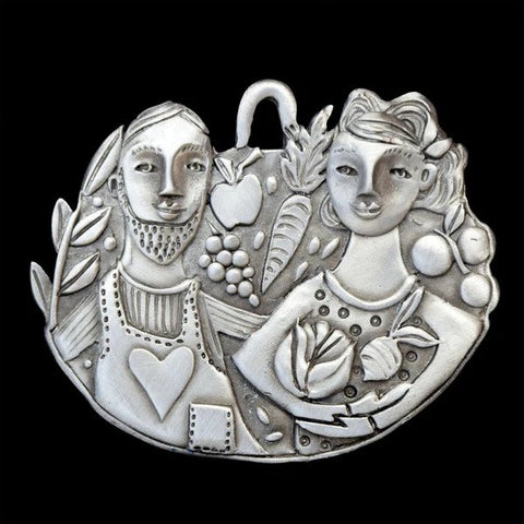 Pewter Ornament - Thank You Farmers