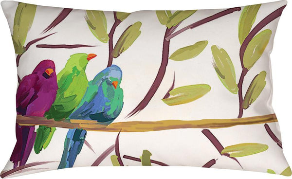 Flocked Together Pillow -Small