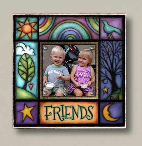 Small Magnetic Picture Frame - 'Friends'
